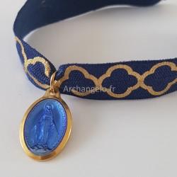 Bracelet élastique médaille...