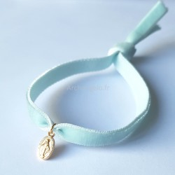 Bracelet élastique velours...