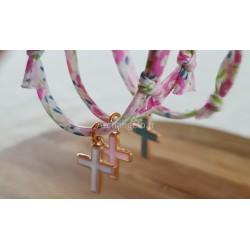 Bracelet Liberty croix...